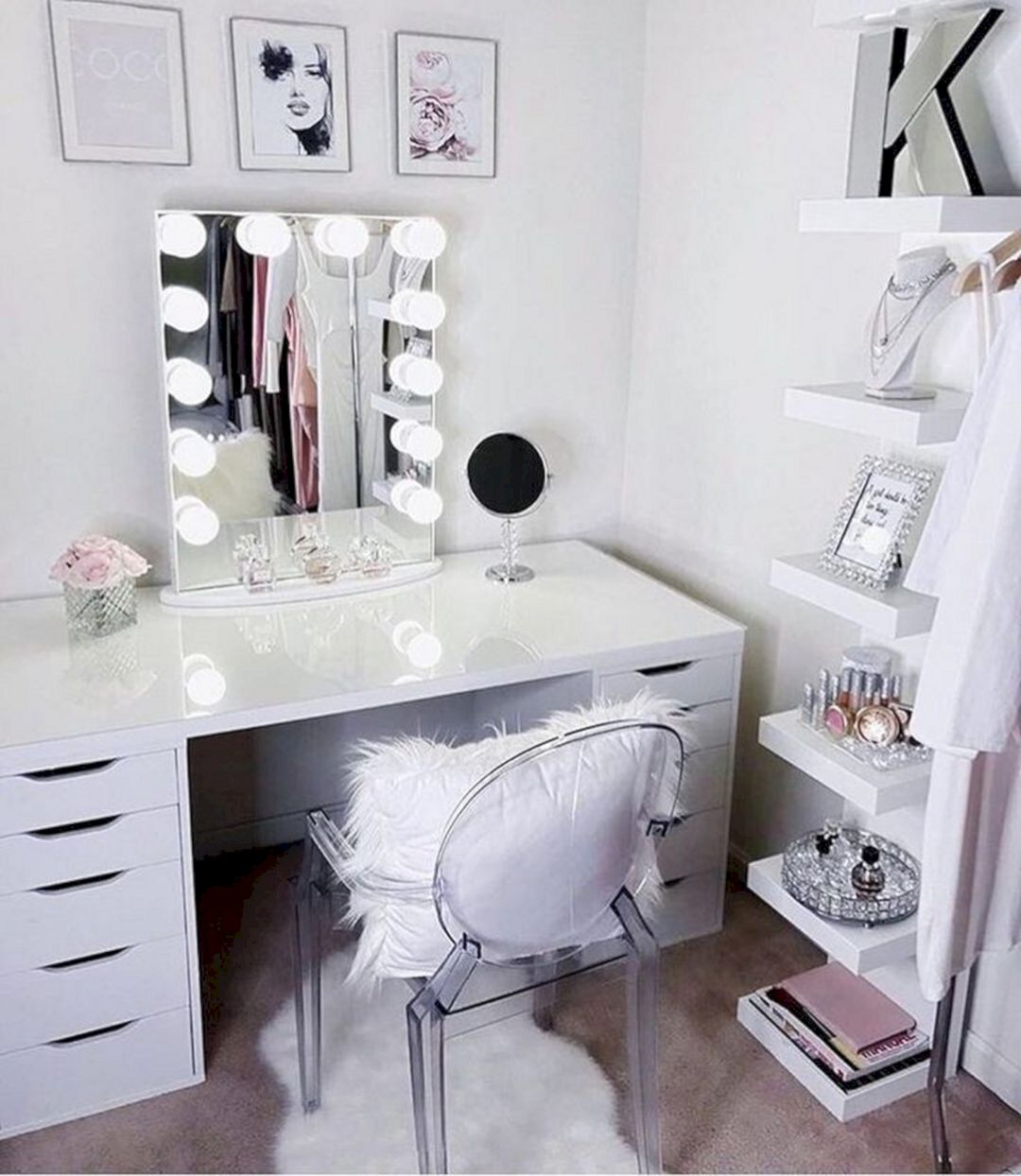 Best Diy Makeup Vanity Ideas Archives Dexorate